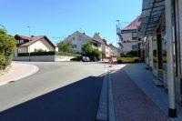 Abzweigung Schulstraße (nach links)